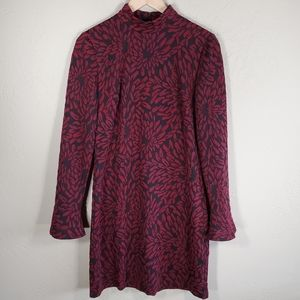 Anthropologie Hutch Michaela Floral Textured Tunic